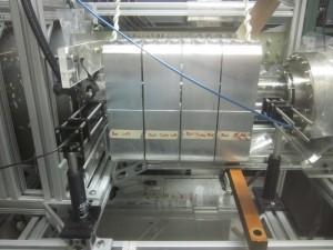Theta coil, Pyrex tube, optical diagnostics, guiding magnets